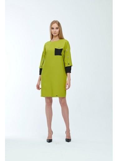 JEANNE D'ARC Elbise Yeşil